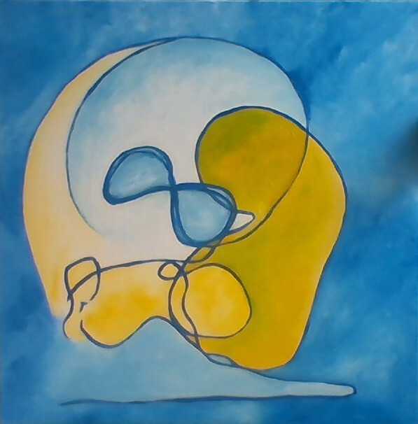 Schilderij van een ervaringsdeskundige: Marijke Binnekamp